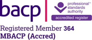 BACP Logo for registered member 364 - Dr Marie Adams